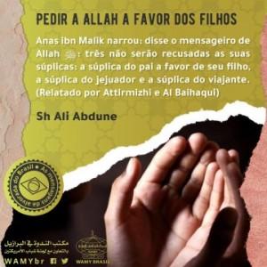 Pedir a Allah a favor dos filhos