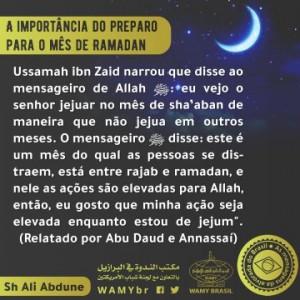 A importância do preparo para o mês de Ramadan