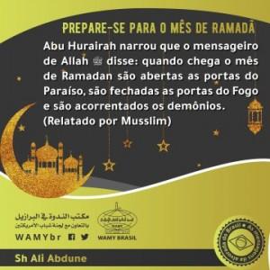 Prepare-se para o mês de Ramadã