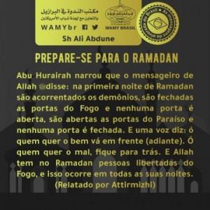Prepare-se para o Ramadan