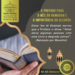 O preparo para o mês do Ramadan e a importância do Alcorão
