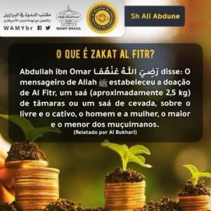 O que é Zakat Al Fitr?
