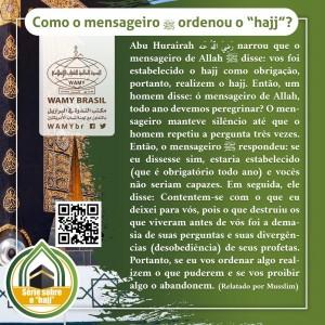 """""""Al hajj"""", um dos pilares do Islam"""