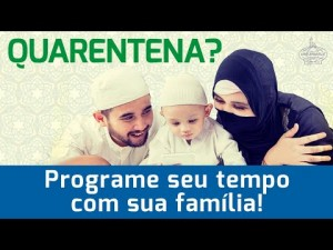Quarentena? Programe seu tempo com sua família!