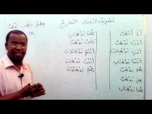 Curso de língua árabe: A conjugação verbal: O presente. Módulo 1
