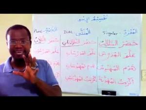Curso de língua árabe: Classificação do substantivo quanto ao número. Módulo 1