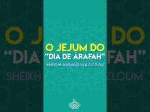 """O jejum do """"dia de Arafah"""""""