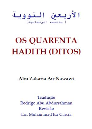 OS QUARENTA HADITH  [DITOS]